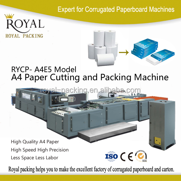 high quality a4 paper cutting & packaging machine online