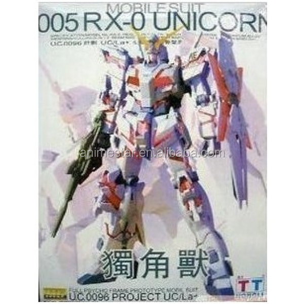 Wholesale MG 005 RX-0 UNICORN Gundam 1/100 Action Figures