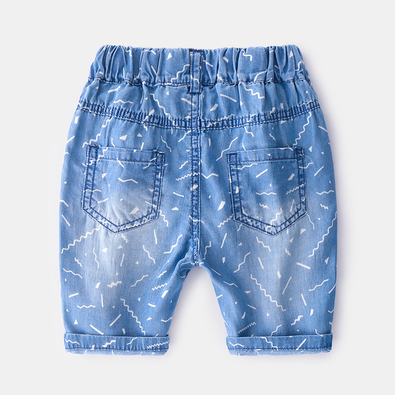 2019 Kids summer Trousers New arrival comfortable cotton jeans pants