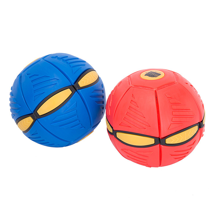 Flying Saucer UFO Bouncing Hover Flat Magic Ball For Kids