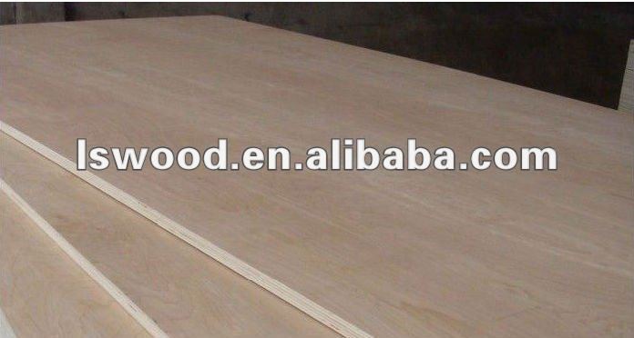 3.6mm 4mm 6mm 9mm 12mm hickory veneer plywood