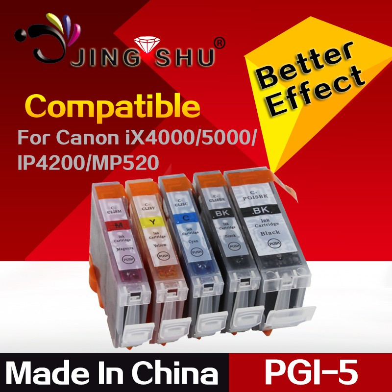 Hot sale pgi-5 cli-8 ink cartridge for Canon PIXMA IP3300/IP4200/IP4300/IP4500 PIXMA IX4000/IX5000 PIXMA MP970