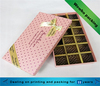 Delicate custom chocolate packaging paper boxes/Latest style luxury chocolate gift box packaging