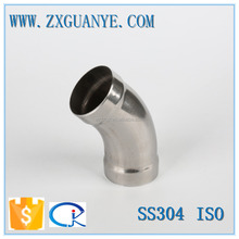 Stainless Steel Socket 45 Degree Elbow Butt Weld Pipe Fitting
