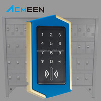 Professional Password Cabinet Lock RFID Hotel Lock With LCD Display Screen