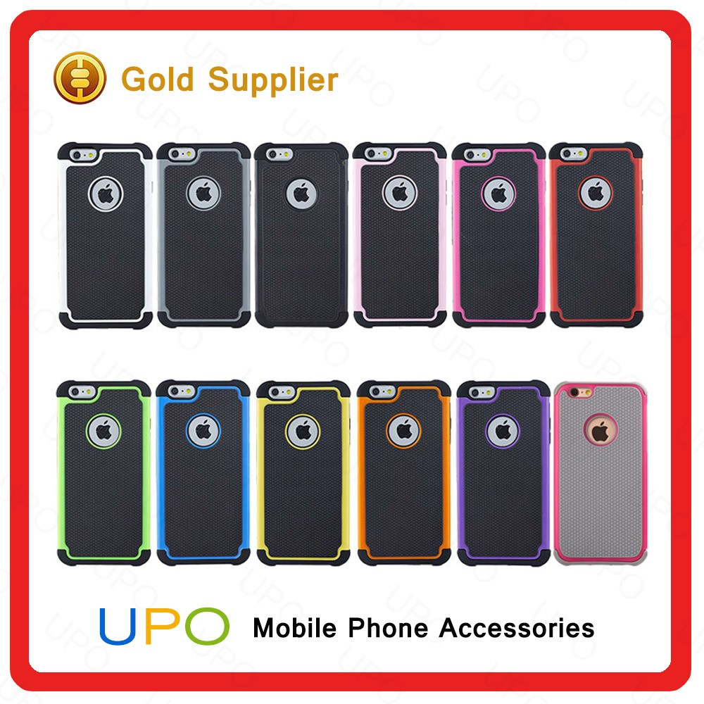 [UPO] New design Sublimation 2 in 1 TPU Bumper PC Back Cover Combo Mobile Phone Case for iPhone 7
