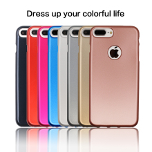 WinTop Metallic Color Flexible Soft Rubber TPU Bumper Case for Apple iPhone 7 Plus