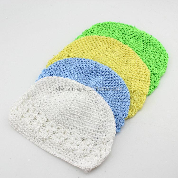 Divertido algodón de invierno sombreros de punto para bebés colorido ...