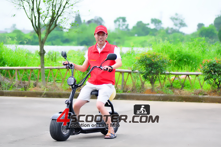 Folding Handicap electric Drifting scooter with 2 Wheels ES5018 Made in China