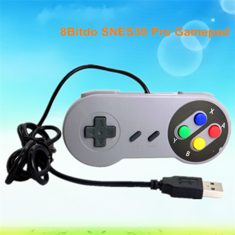 2017 Factory price 8Bitdo SNES30 Pro Gamepad mouse gaming China Joystick & game control