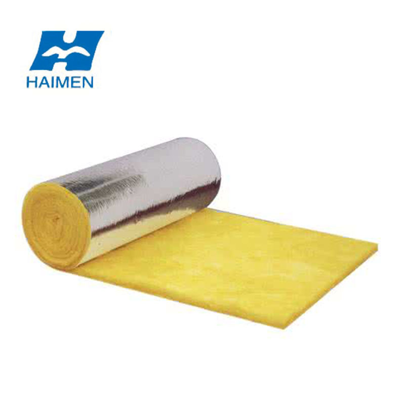 glass wool for roofs thermal equipment cold insulation blanket