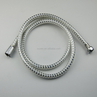 Best quality PVC white and silver shower tube flexible hose