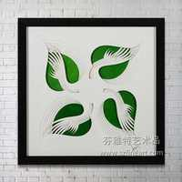 Hot Design Modern Brush Acrylic Wall Hanging Art Painting