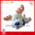 Christmas Plush Toys Soft White Reindeer