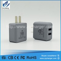 China oem manufacturer travel adapter charger with usb