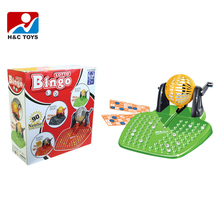 Intellectual toy 90 numbers 72 cards funny kids plastic bingo lotto game with EN71 HC353317