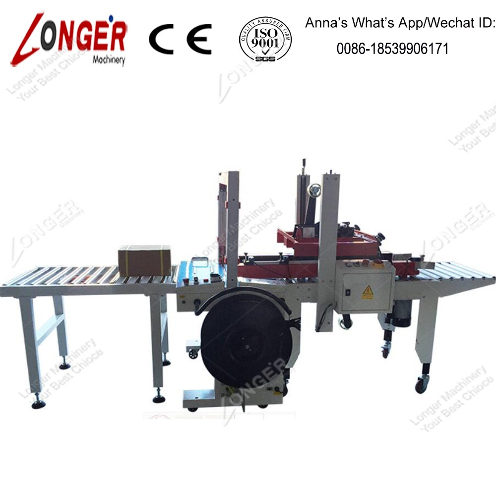 Semi Automatic Carton Machinery Carton Box Tape Sealing Machine