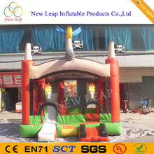 PVC material inflatable slide toy inflators jumper kids inflatable house jumping castle for sale