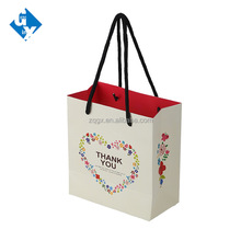 Customized wedding christmas gift famous brand paper bag
