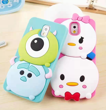 The Newest 3D Cartoon Cute soft silicone case For iphone 5 5s/6/6plus/7/7plus