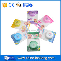 New Design Individual Wrapper Plastic Dental Floss Picks