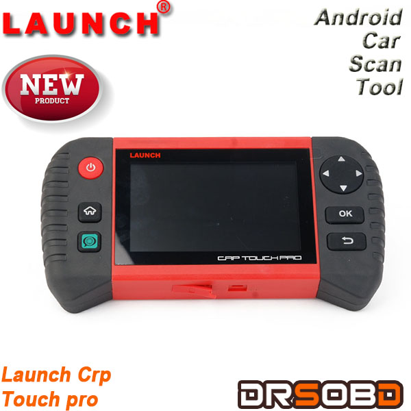 Newest electronic parking brake & steering angle & oil lights &DPF & TPMS runs on Android Launch crp touch pro code scanner