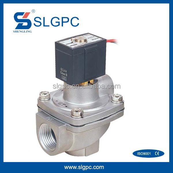 Chinese low price pulse series valves aluminum valve body VXF2150-06 dc voltage magnetic 12v latching solenoid