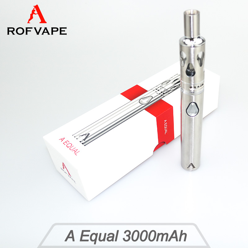 Alibaba Newest e cigarette excel electronic cigarette 3000mAh made in Shenzhen Rofvape with Constant voltage output