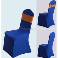 Wholesale new design cheap navy blue spandex folding chair cover