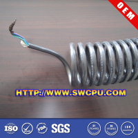 Plastic PVC knitted braided hose/pipe