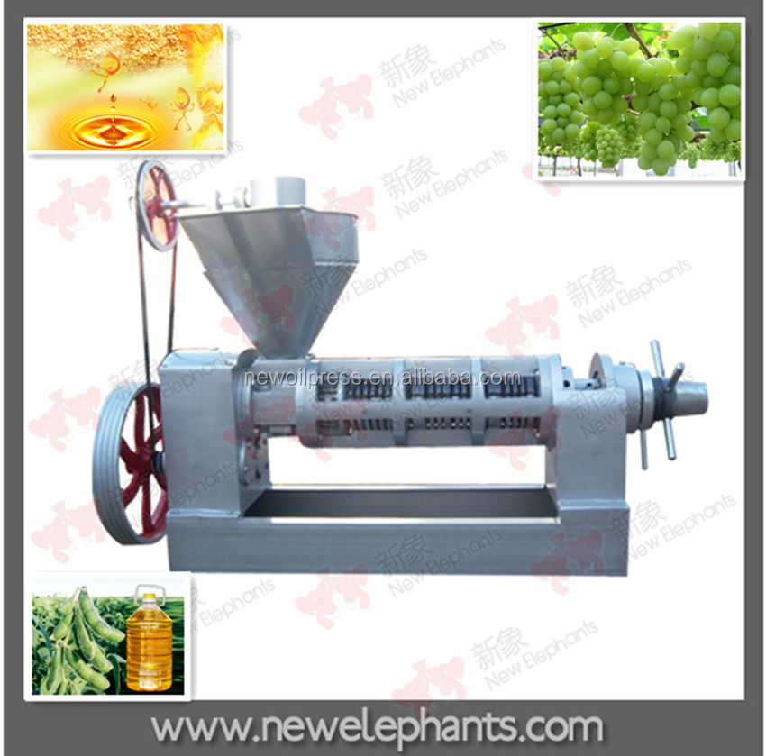 6YL-130 Family Use Largest Sunflower Oil Mill