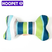 Bone Shaped Oxford Stripe Dog Toy Squeakers Wholesale