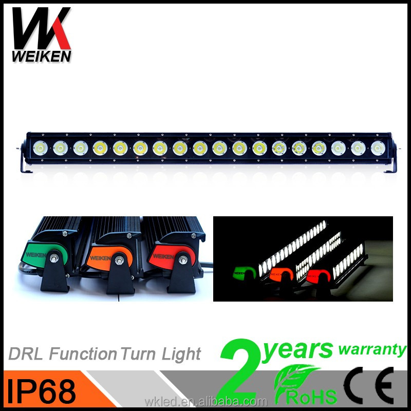 Crees 180w 31inch 10w/piece single row straight led light bar for jeep offroad 4x4 atv utv suv 4WD Pickup truck led light bar