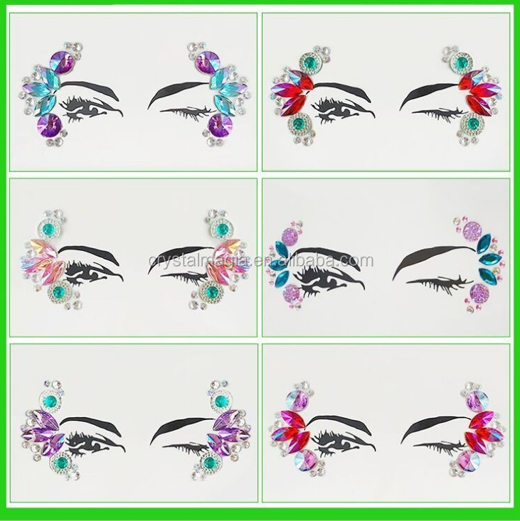Face Jewelry Face Jewels Sticker Face Jewels Makeup Sticker