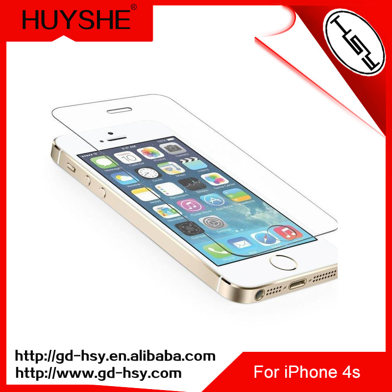 HUYSHE Mobile accessories dubai 2016 new products hot selling on alibaba online shopping for iphone4 tempered screen protector