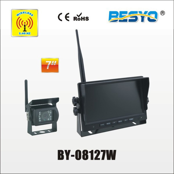 "7"" wireless monitor and wireless camera systems BY-08127W"