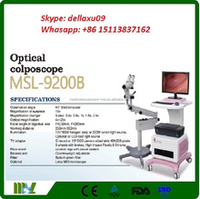 MSL9200B-A 2016 new product Optical Colposcope Cheap Digital Gynaecology video Colposcope for sale