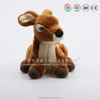 Fashionable singing and dancing toys plush animated Christmas reindeer