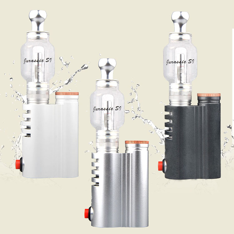 China supplier electronic cigarette jurassic s1 vape cartridge glass bottle hookah