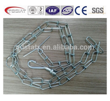 long link chain or short link dog chain