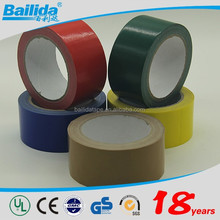 New product on china market roll hot melt adhesive heavy duty colored PVC cloth duct tape