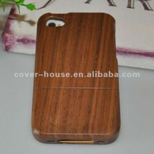New Arrival Bambo case Natural Wood Case for iPhone 4 4S