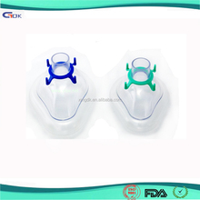 Medical silicone rubber female oxygen breath control mask | silicone diving mask