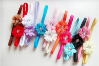 Hair felt flower headband flower baby hair accessories for jewelry baby girls headbands China wholesale cheap head accessories