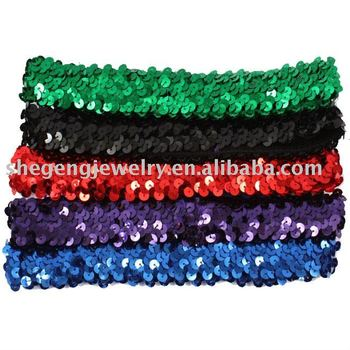 3cm Sequin Headbands