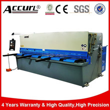 Intl Accurl Brand Hydraulic Sheet Metal Cutter 4mm 2500mm for Iron Plate Shearing Machine QC12Y-4 2500mm