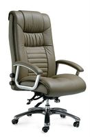 A14-18 high back office leather chair for boss with adjustable system