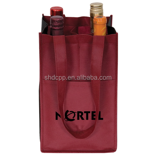 Factory best selling neoprene wine tote bag