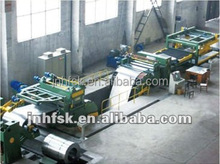 cut to length line for metals,Steel Coil Cut to Length Flying Shear Line