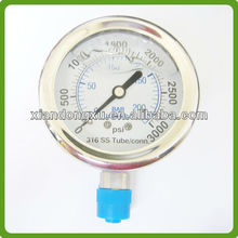 Glycerine Filled Make U Tube Manometer